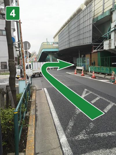 大師駅からのアクセス4